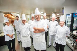 chef John Kukucka and his team