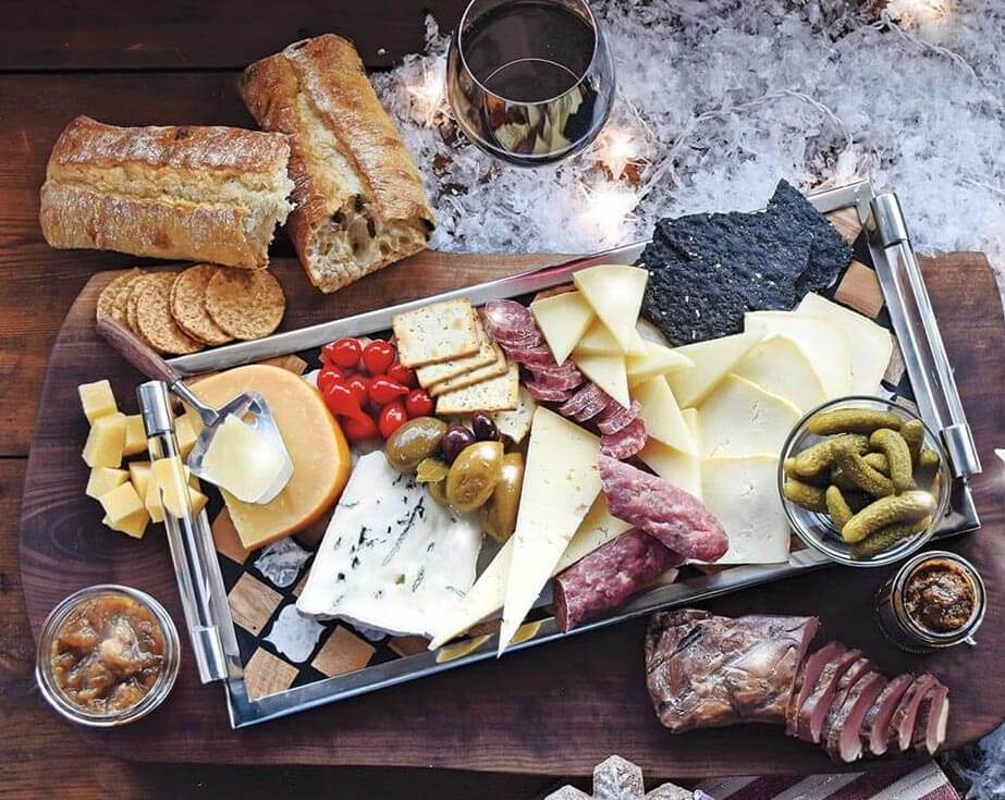 connoisseur cheese board