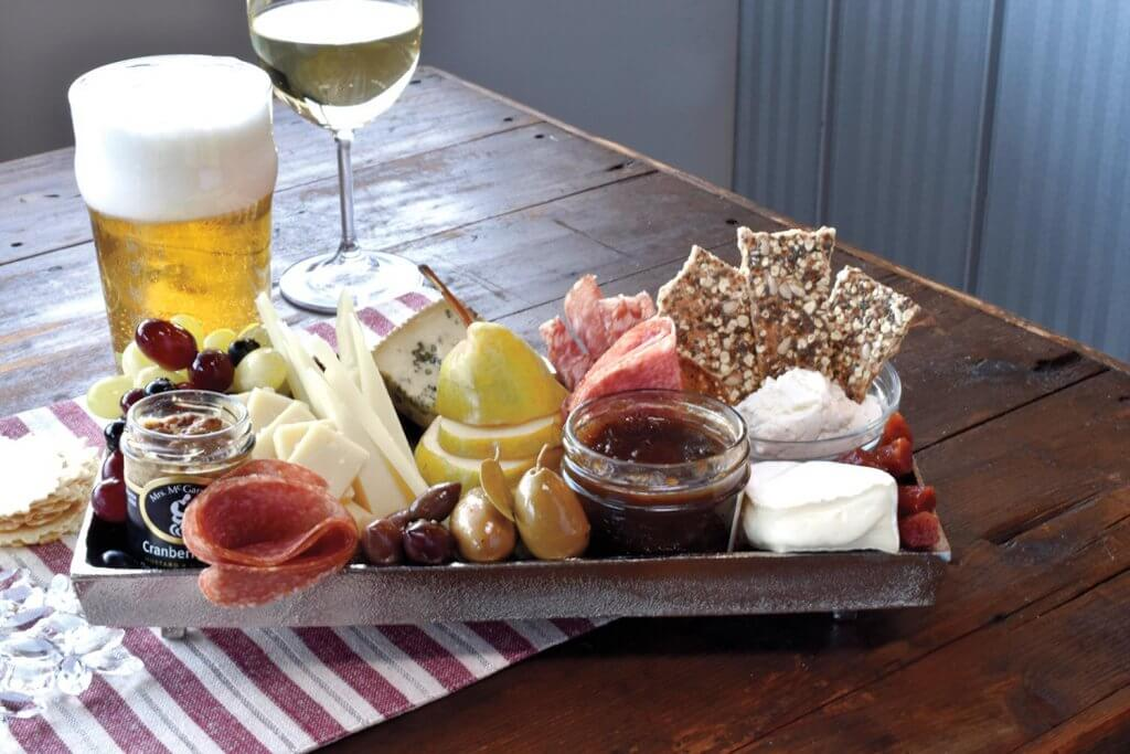 easy eating cheese board