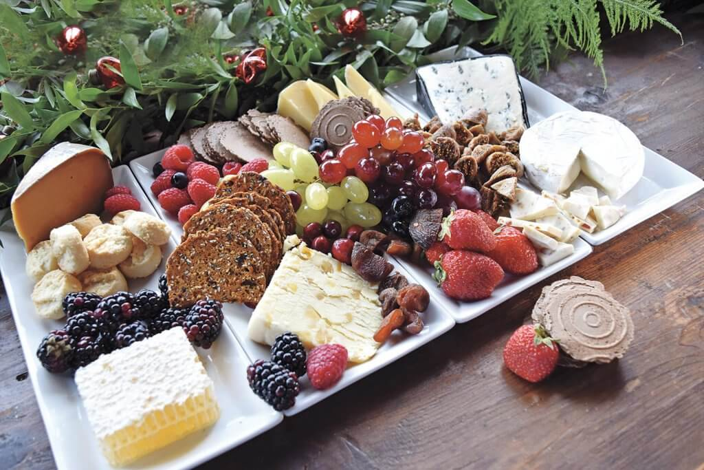 sweeter cheese board